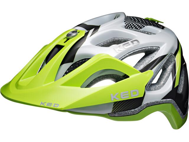 KED Trailon Helmet Green Pearl Matt